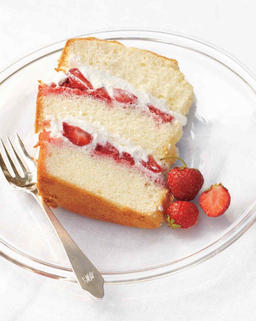 fraisier au mascarpone