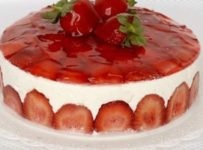 fraisier au mascarpone facile