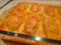 gratin de quenelles a la sauce tomate maison
