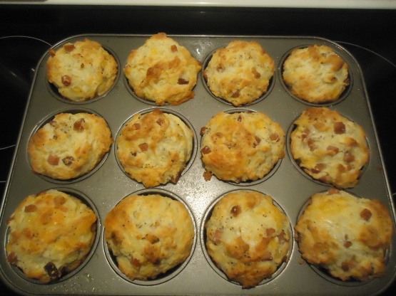 muffins jambon fromage recette facile