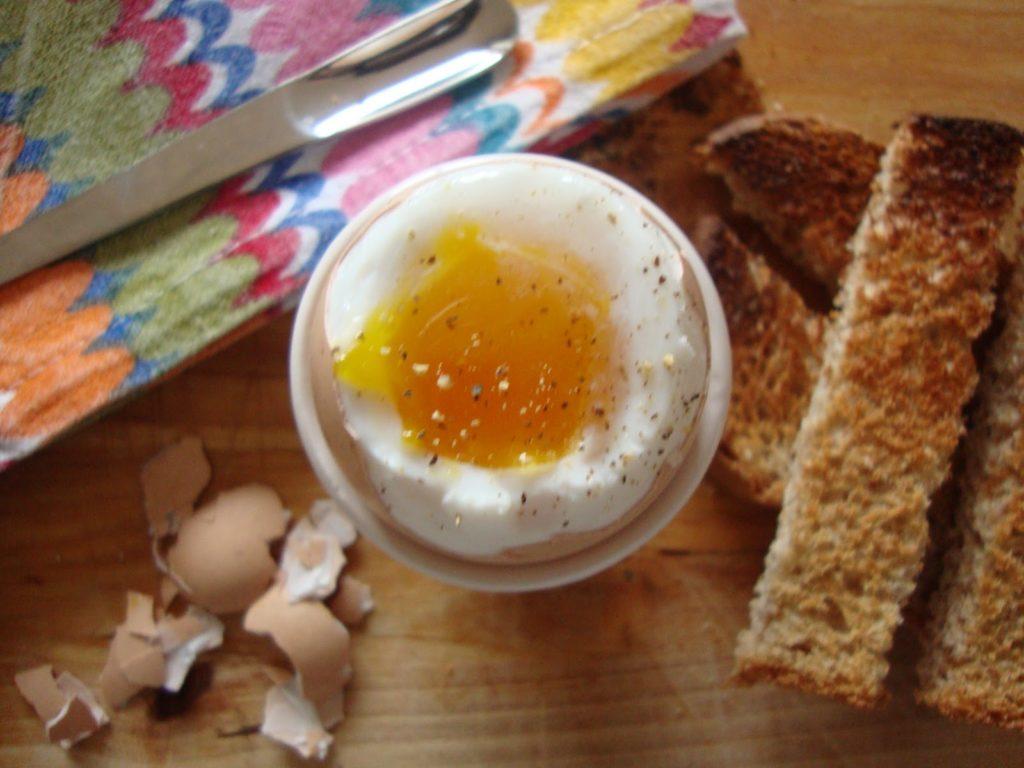 œuf a la coque facile