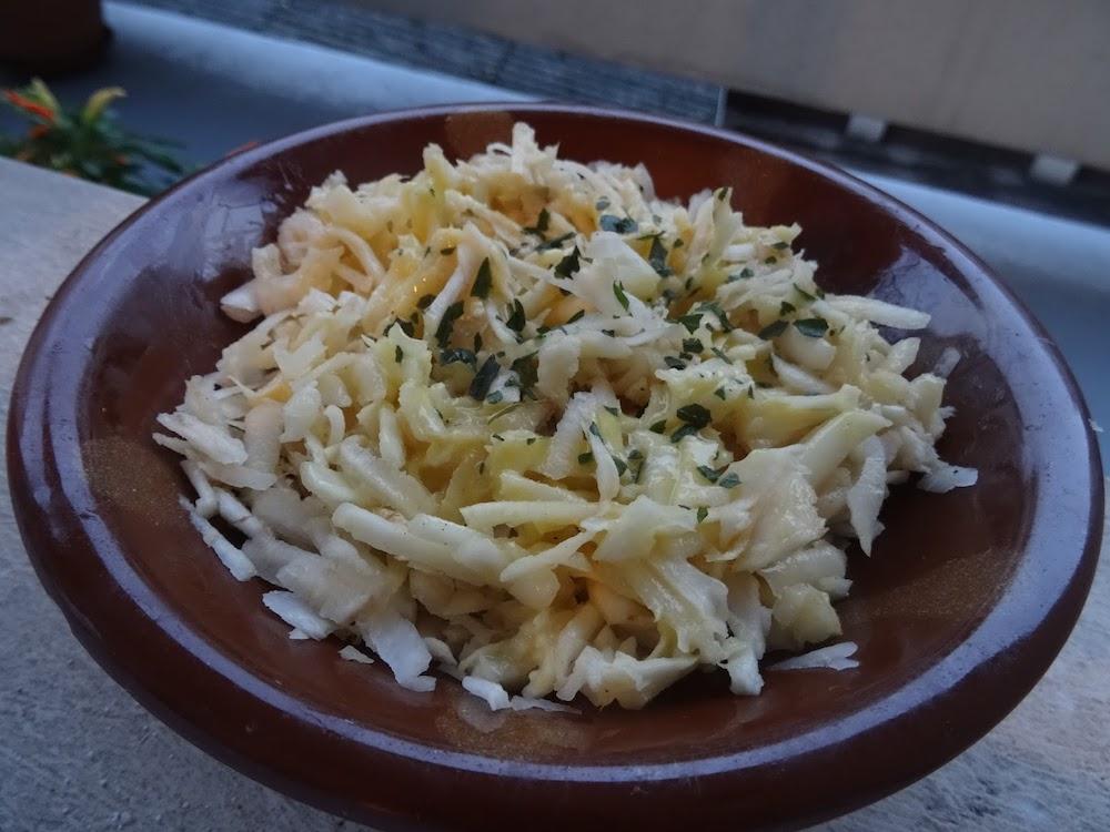 salade de celeri au fromage blanc