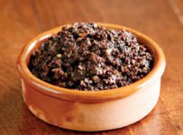 tapenade d'olives noires facile