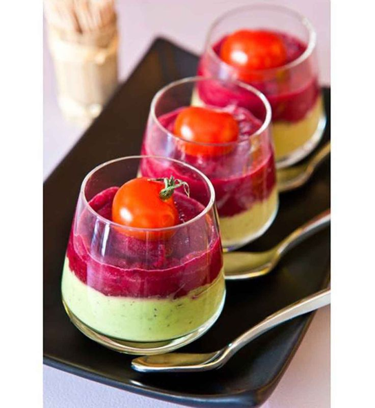 verrines betteraves avocat recette