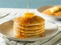 Pancake au sirop d'eérable veritable