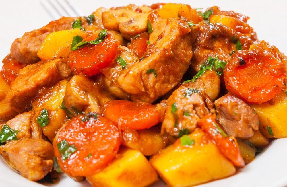 bouillabaisse de poulet recette
