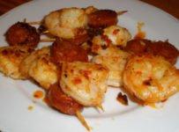 brochettes de crevettes chorizo recette