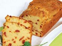 Cake chorizo emmenthal