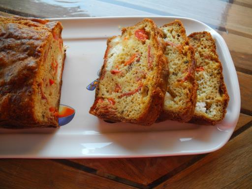 cake chorizo emmental recette