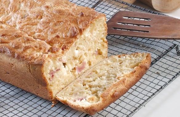 cake jambon emmental recette