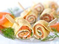 crepes roulees au saumon fume recette