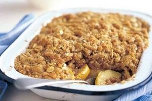 crumble de pommes recette