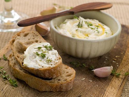 dip de fromage blanc a la ciboulette