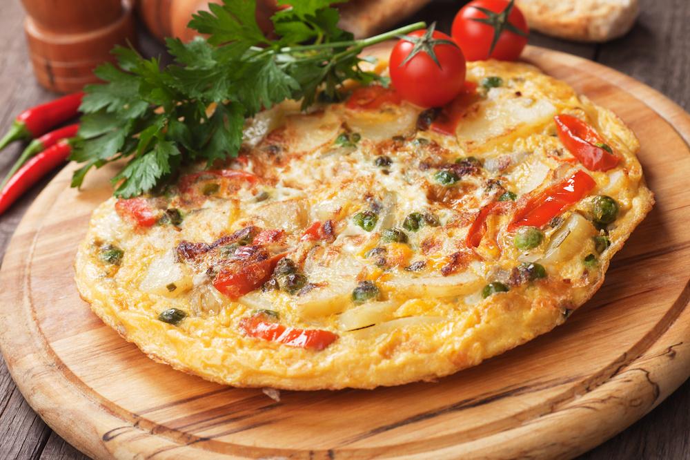 mini tortillas aux legumes recette