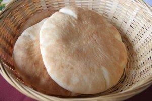 pain pita maison