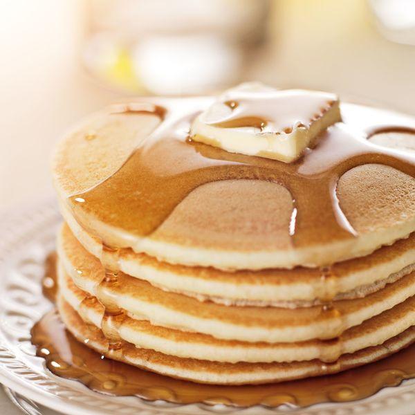 pancake au sirop d'erable facile