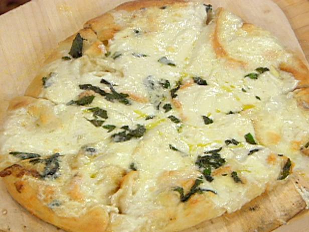 pizza blanche recette