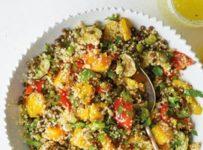 quinoa en salade et petits legumes recette