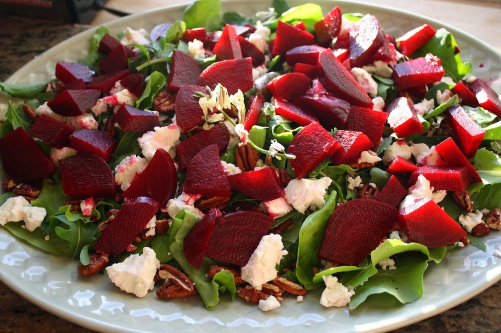 salade de betteraves et feta
