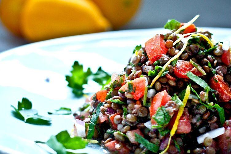 salade de lentilles facile