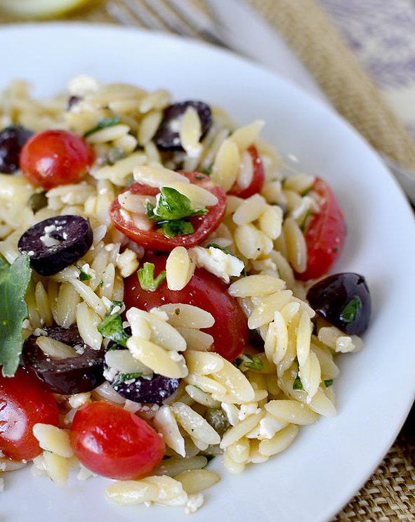 salade de riz aux tomates cerises recette
