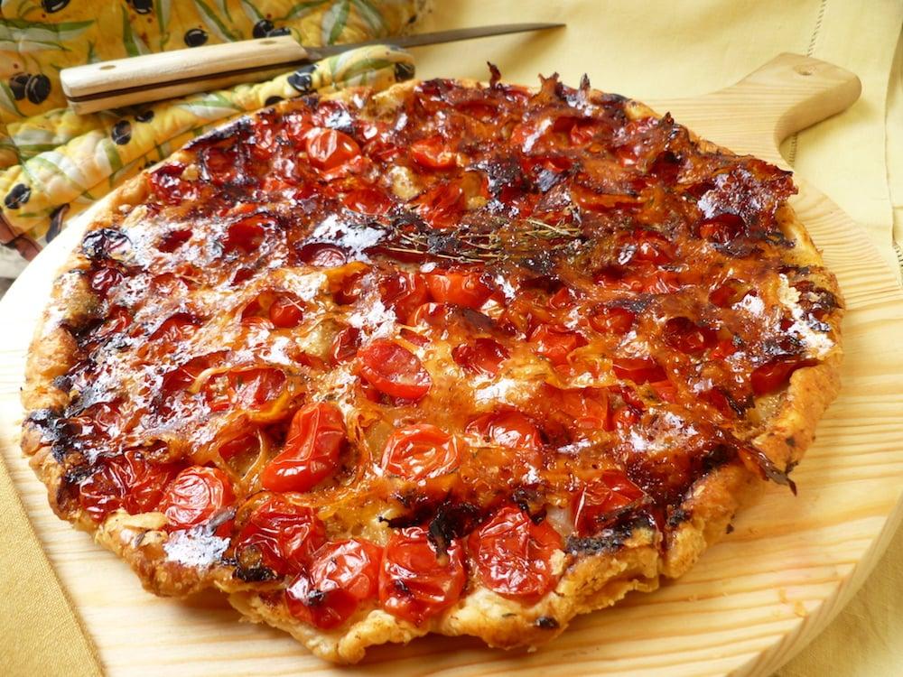 tarte tatin a la tomate recette
