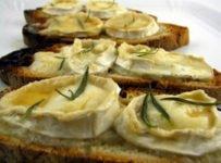 tartine de chevre et noix recette