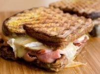 toast jambon fromage facile et rapide
