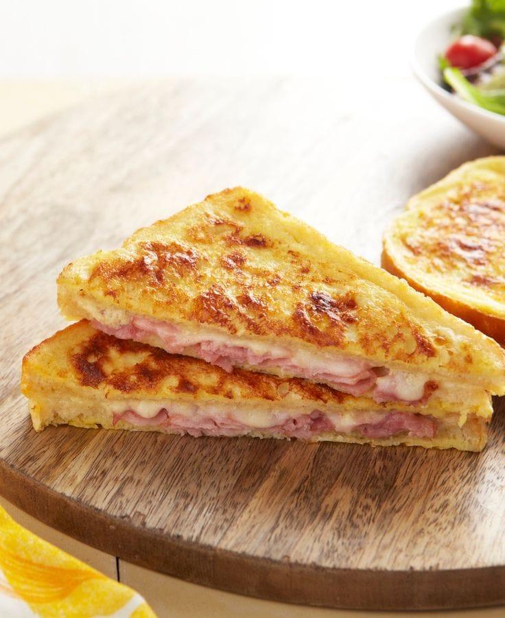 toast jambon fromage
