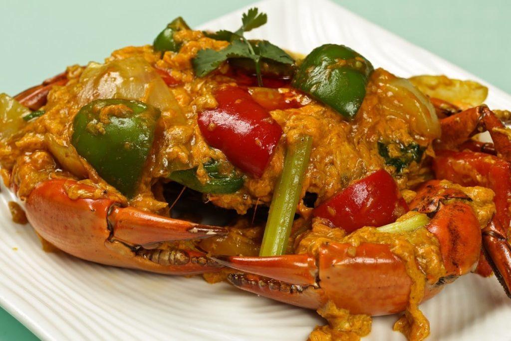 colombo de crabe recette