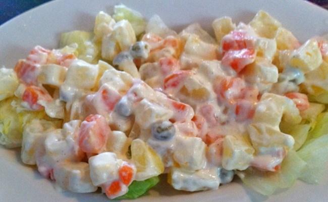 macedoine de legumes recette