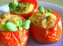 tomates au four farcies a la ricotta recette