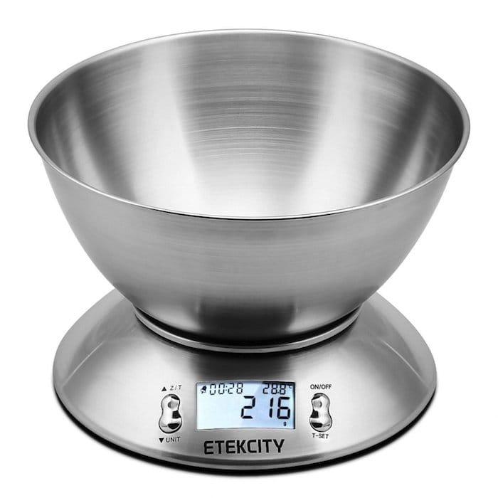 balance de cuisine electronique 5kg maxi