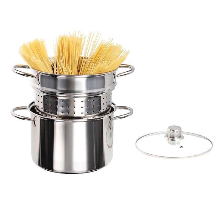 spaghetti a la Carbonara faitout spaghetti