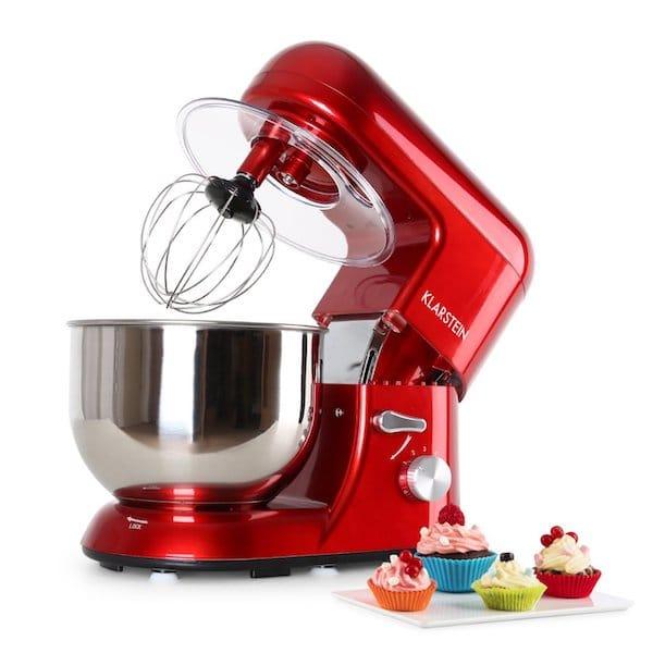 robot pâtisserie rouge
