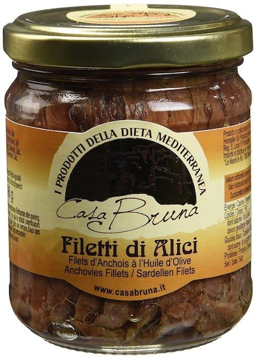 Pissaladière niçoise filet d'anchois