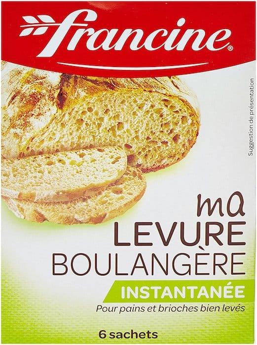 Recette de pain maison avec levure boulangere instantanee