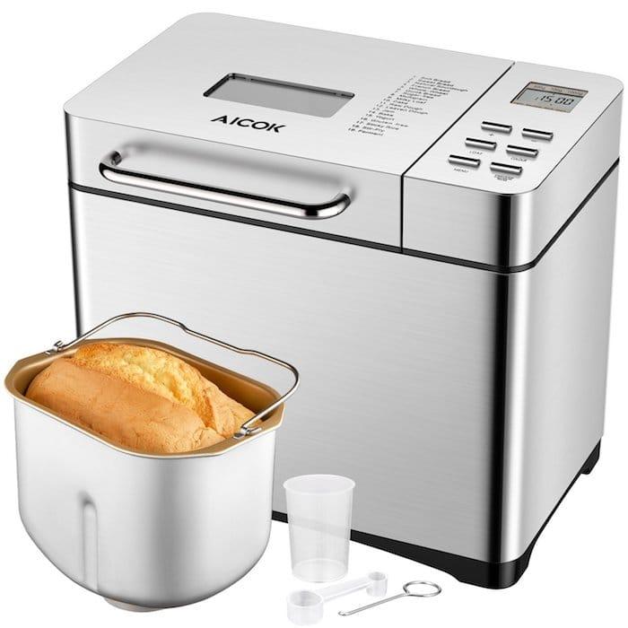 faire son pain maison Aicok 19 programmes