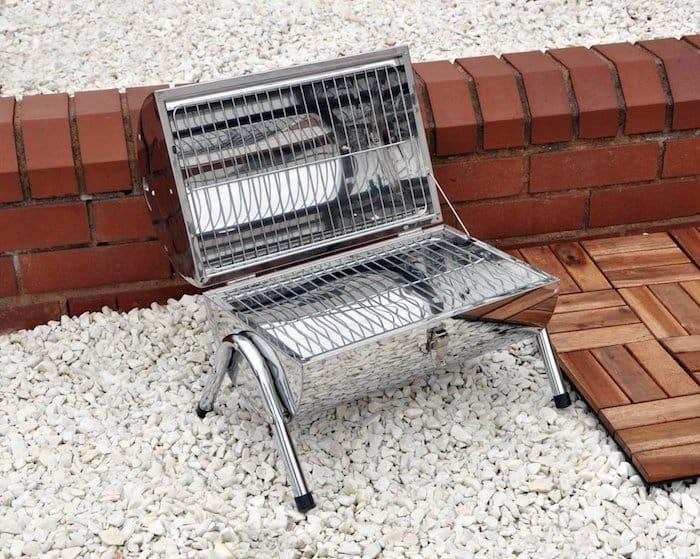 preparer un pique-nique barbecue portable