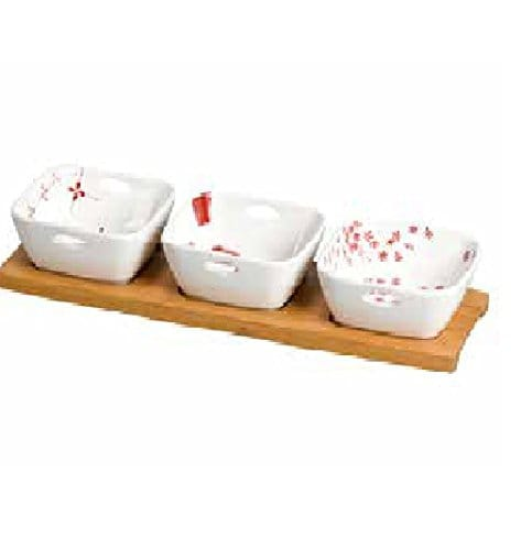 presenter ses tapas porcelaine bamboo