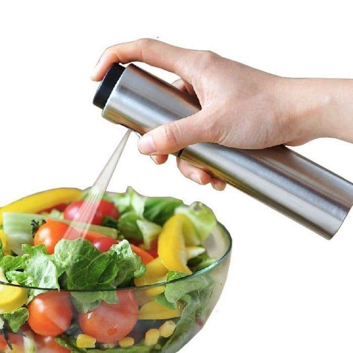 reussir ses vinaigrettes pulverisateur huile olive
