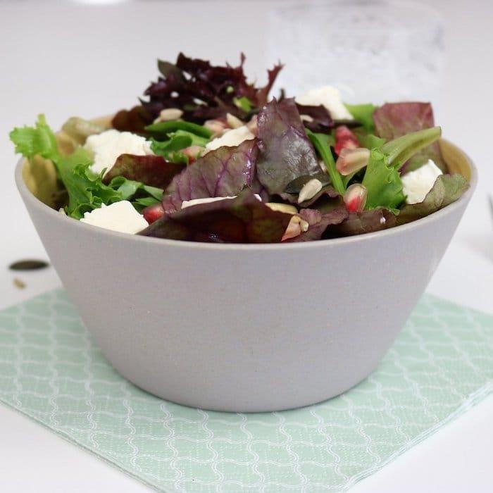 Presenter vos salades saladier en bambou