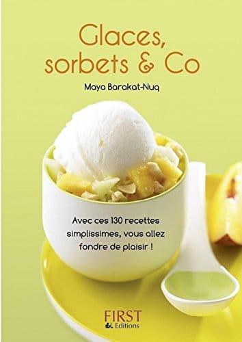 sorbetière livre recettes