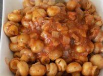 Champignons a la grecque vraie recette