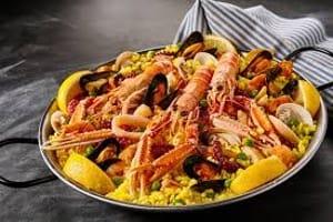 Paella aux fruits de mer recette authentique