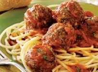 Spaghetti Meatballs recette originale americaine
