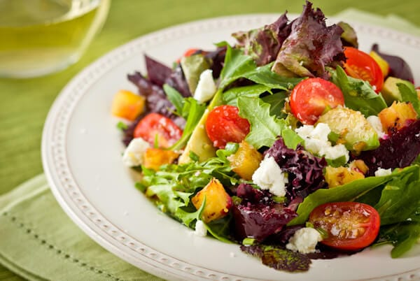 salade hawaïenne vegetariens