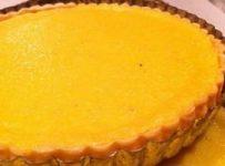 tarte au citron naturelle