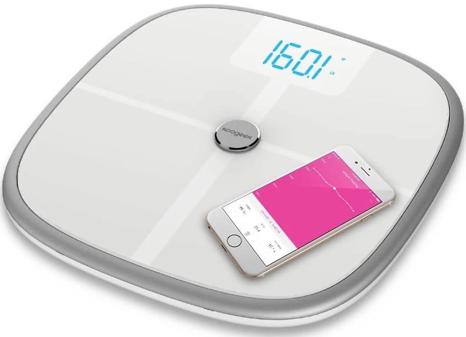 Koogeek S1 balance connectee pour iphone ipad android