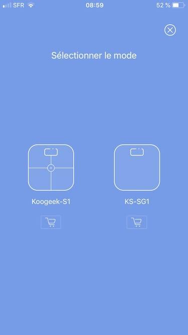 Koogeek S1 configuration